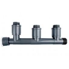 """Колектор Rain Bird за клапани 3-пътен / холендров 1""""M"""